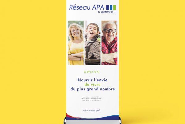 Roll up Réseau APA, forum Libération